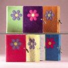 Plush Flower Diary-Lock & Key 6ct