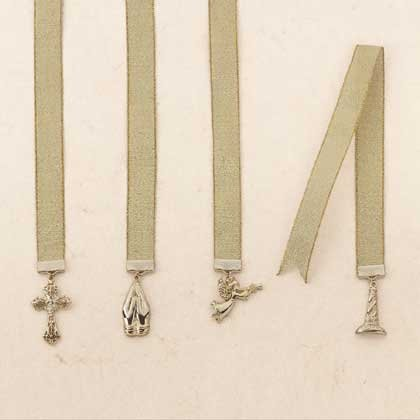 Gold Plated Inspirational Bookmarks