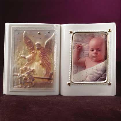 Porcelain Angel Frame Nightlight