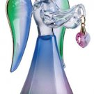Glass Angel With October Birthstone