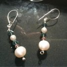 Crystal & Pearl Drop Earrings
