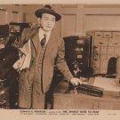 EDWARD G. ROBINSON, WINKLE GOES TO WAR MOVIE PHOTO 5051