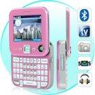 Metro Pink - Dual SIM Swivel Screen QWERTY Cosmopolitan Phone