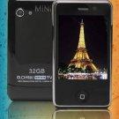 Mini H601 Quad Band Dual SIM Cards 0.3MP TV JAVA Bluetooth Touch Phone