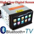 "7"" Car DVD Player + GPS Navigation+ Bluetooth+Ipod+TV"
