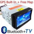 "7"" Car DVD Player + GPS Navigation + Bluetooth"