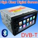 "6.2"" Car DVD Player + GPS Navigation +Bluetooth+ DVB-T"