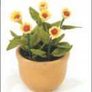 FLOWER DOLLHOUSE MINIATURES CRAFT CLAY HANDMADE SALE#29