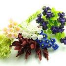 Bunch of abundant blooms Dolhouse Miniatures#44