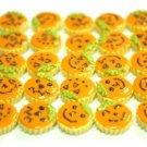 Set Of 12 Pieces Pumpkin Tarts Miniatures NBR95