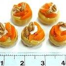 Set of 5pcs Mini Cake Doll house Miniature NBR9