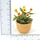 Mixed florals In Pot  Doll house Miniature NBR31