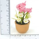 Mixed florals In Pot  Doll house Miniature NBR30