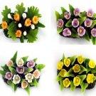 Set of 4pcs Mini Garden Miniature NBR 92