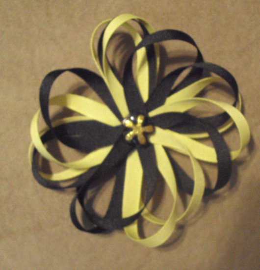 Black & Yellow W/ Butterfly Center