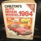 1984 Chilton's Auto Repair Manual