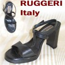 Diva Pumps - Slingback T-strap by Ruggeri Italy - Gray - Retail $123 - YOUR PRICE $26.99 - 8.5