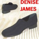 Black Stretch SlipOn Loafers by Denise James - Retail $115 - YOUR PRICE $19.99 - sz 6N