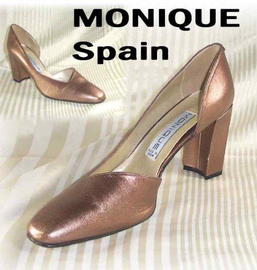 Uptown Copper Pumps by Monique Spain - Retail $99 - YOUR PRICE $17.99 - sz 9.5