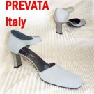Mary Jane Comfort Pumps - Acrylic Heel - Prevata Italy - Retail $149 - YOUR PRICE $22.99 - 8.5AA