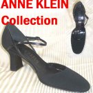 Mary Jane Peau Pumps by Anne Klein - black - retail $189 - YOUR PRICE $29.99 - 9 N