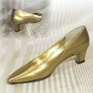 Coppery Gold Pumps - Classic Beauties - by A'Mano USA - Retail $116 - YOUR PRICE $17.99 - 7 AAA