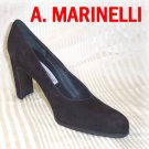 Sophisticated Charcoal Suede Pumps by A. Marinelli - Retail $105 - YOUR PRICE $12.99 - sz 7