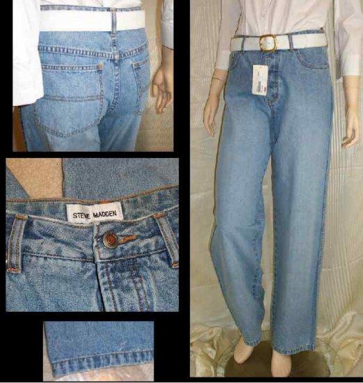 STEVE MADDEN 5-pocket Modest Faded Jeans - New - Waist 30 in.