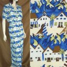 Ann May Silk Seaside Long Skirt wBlouse Suit - Your Price $34.99 - Retail $322 - sz S