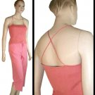 HALSTON Coral Silk-Spandex Knit Camisole in Coral - $17.99 - Retail $141 - sz L