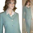 Bernard Zins France Linen-Silk Blazer - Seafoam - $54.99 - Retail $488 - sz 6
