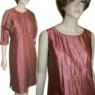 3pc Crinkle Tent Dress Suit in Blush Rose by TRU Supply - $29.99 - retail $245 - sz M