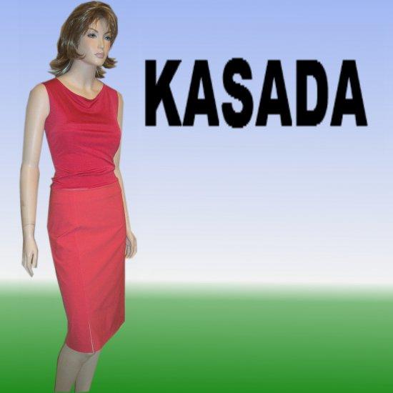 Kasada Polyamide Hippy Skirt in Coral * sz 6 * Your price $19.99 - Retail $212