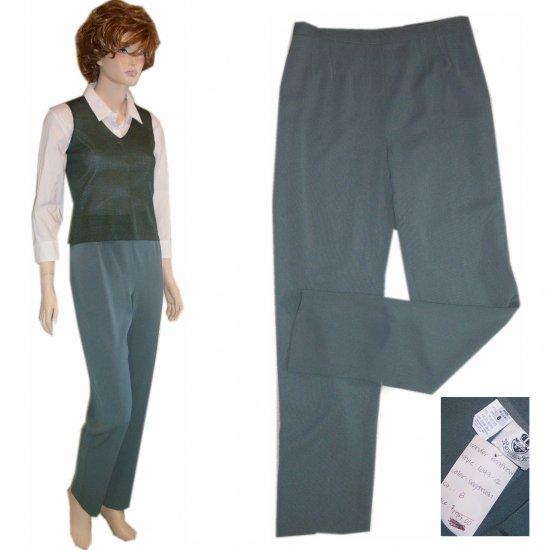 Renfrew * Sage Green Exec Pants * sz 8 * $19.99 * Retail $195