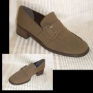 Brown MIcro Loafers by A> Marinelli * YOUR PRICE $12.99 * sz 6 * Retail $89