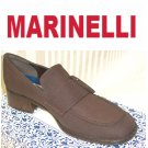 Brown Microfiber Loafers by Marinelli of Spain * YOUR PRICE $12.99 * sz 7.5N