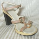 Manufacture D'Essai Italian Gladiator Sandals Heels - sz 7 * YOUR PRICE $19.99 - retail $138
