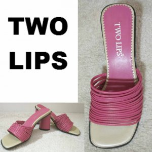 sz 5.5 - FUTURISTIC Sandals Pumps Heels - $12.99 - Punk Pink - Made in Brazil