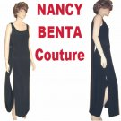 Retail $1500 - sz 6 Silk Gown -  YOUR PRICE $199.99 - by Nancy Benta