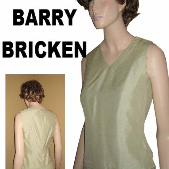 BARRY BRICKEN Silk Sleeveless Blouse Retail $100 - Mint - sz XS