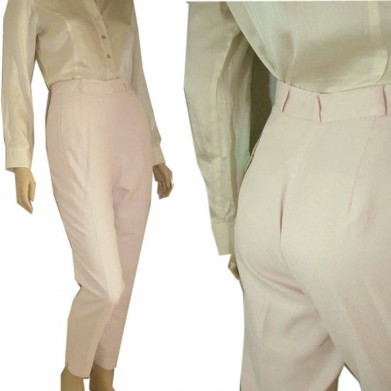 Executive Pants in Powder Pink by Elliott Lauren - sz 4