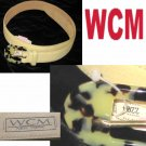 WCM New York - Belt wFaux Tortoise Buckle - Retail $62 - waist 25-29