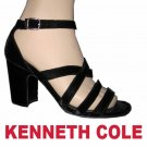 "sz 9-1/2 - KENNETH COLE Black Velvet Pumsp 3-1/2"" heel $39.99 - Retail $245"