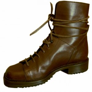 Steampunk WrapLace Italian Over-Ankle Boots - sz 7.5 Your Price $59.99 - Retail $325
