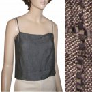 sz 6 ANNE KLEIN Linen Blouse Camisole Top $24.77 - Retail $193
