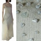 sz 8 DAVID MEISTER Beaded Camisole Gown in Sage $75.99 - Retail $440