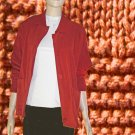 I.B. Diffusion Mixed Knit Boyfriend Sweater in Rust Medium $24.99 - MSRP $138