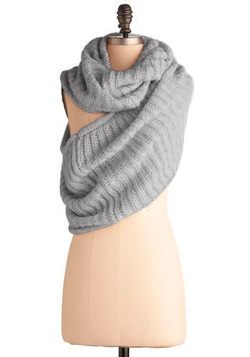 Puffy Loop Scarf / Neck Warmer