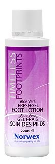 TIMELESS FOOTPRINTS Foot Lotion