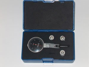 FOWLER 0.03in 1in Dia 0.0005in Graduation Black Test Indicator